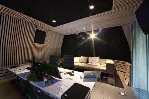 Bygging av lyd- og filmstudio, Nedre Gate, Oslo