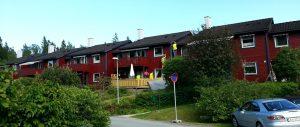 Renova maler Bjørnhaugen Borettslag, 18 leiligheter. Juni 2013