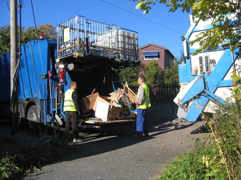 Renova, Her kjører vi bort avfall og skrot, som har ligget i sekk eller løst. Enklere og billigere for kunden.